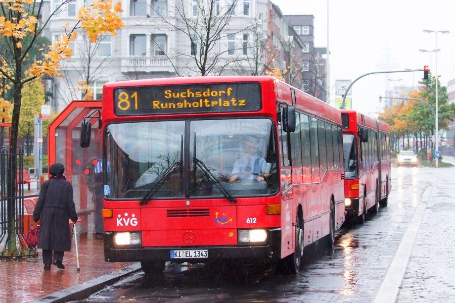 Busse in Kiel