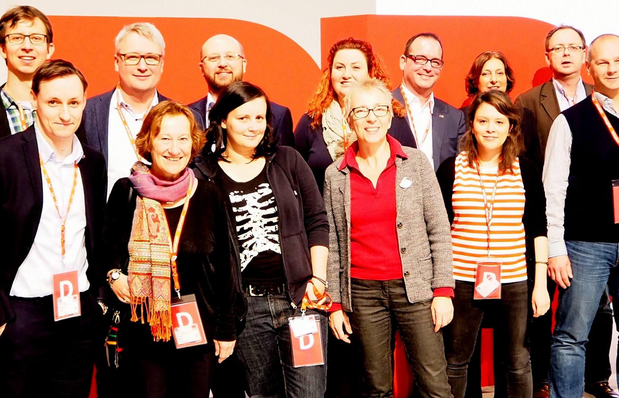 Delegierte zum Bundesparteitag