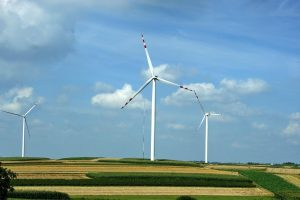 Windkraft-Anlagen