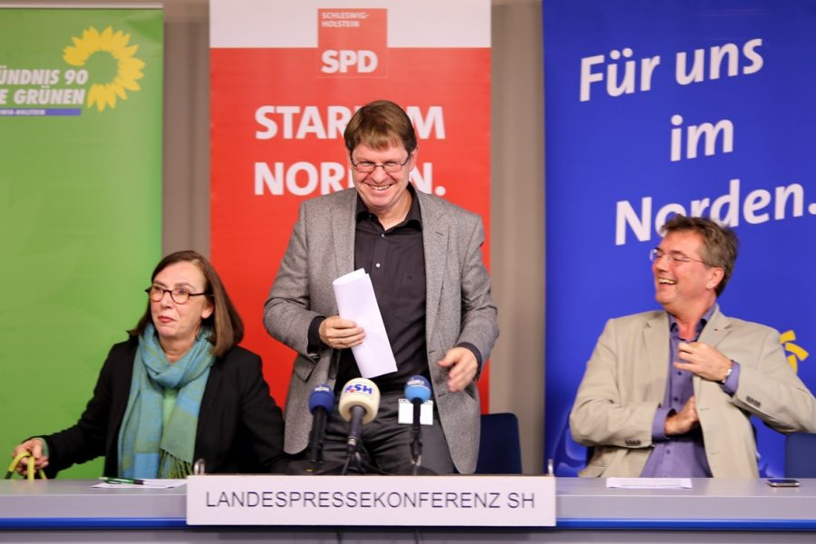 Ruth Kastner, Ralf Stegner, Lars Harms