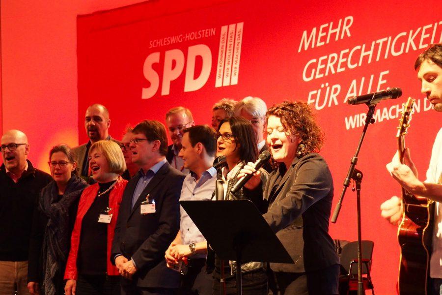 Der Parteitag singt
