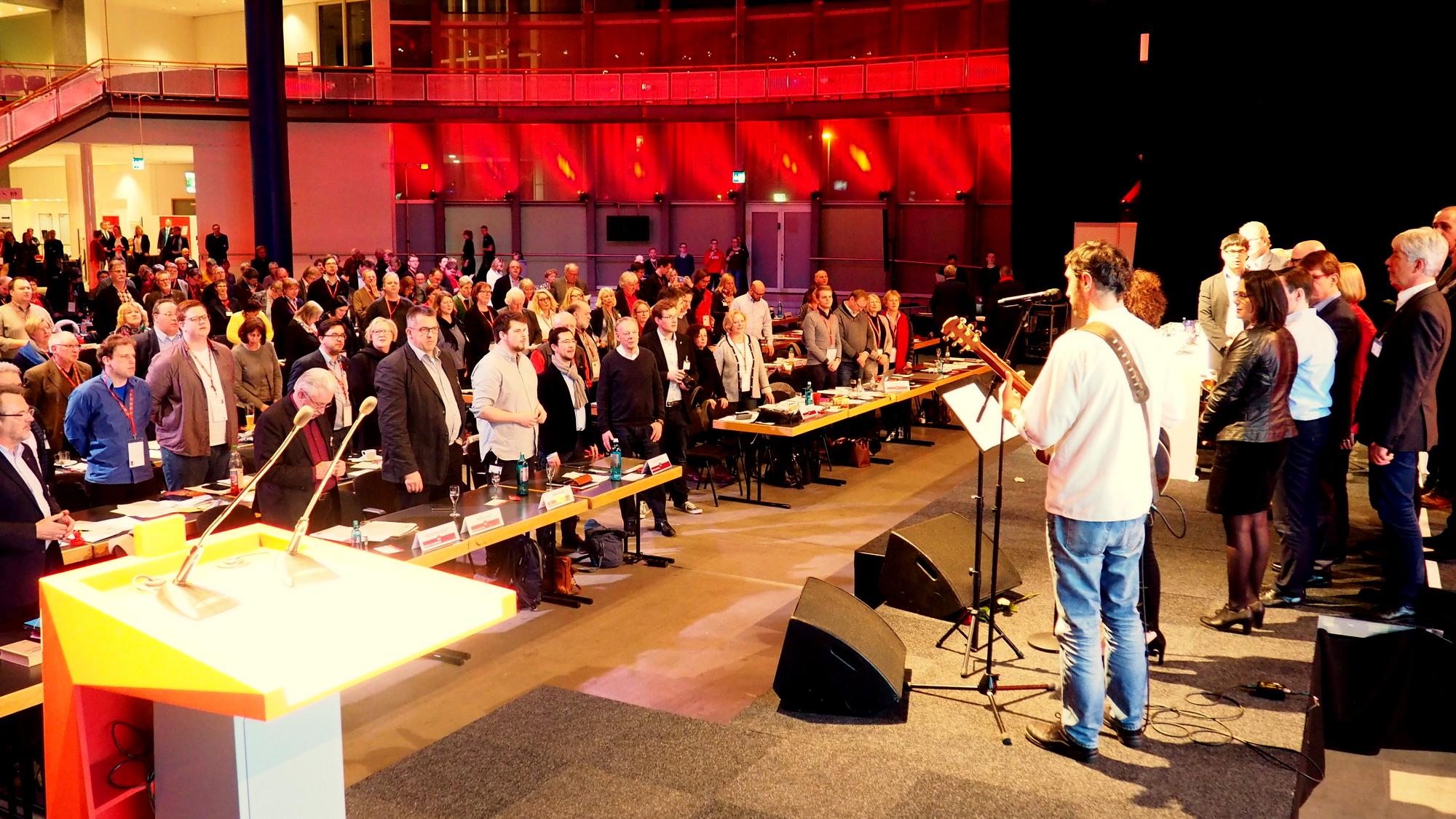 Der Parteitag singt_Foto: