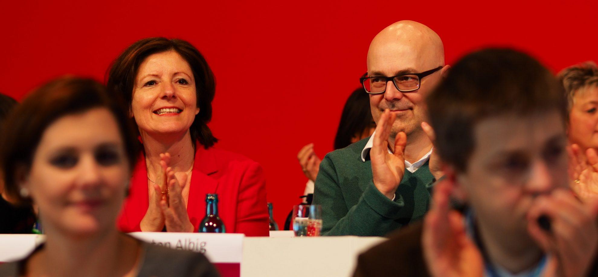 Malu Dreyer und Torsten Albi