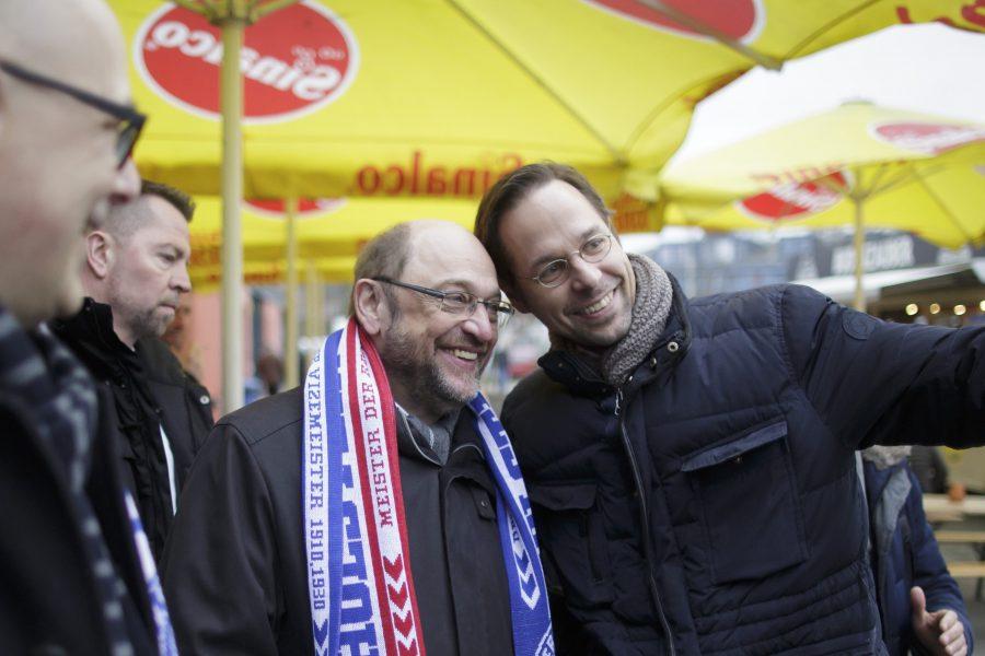 Martin Schulz bei Holstein Kiel