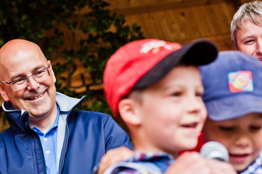 Torsten Albig und Sönke Rix beim SPD Familienfest