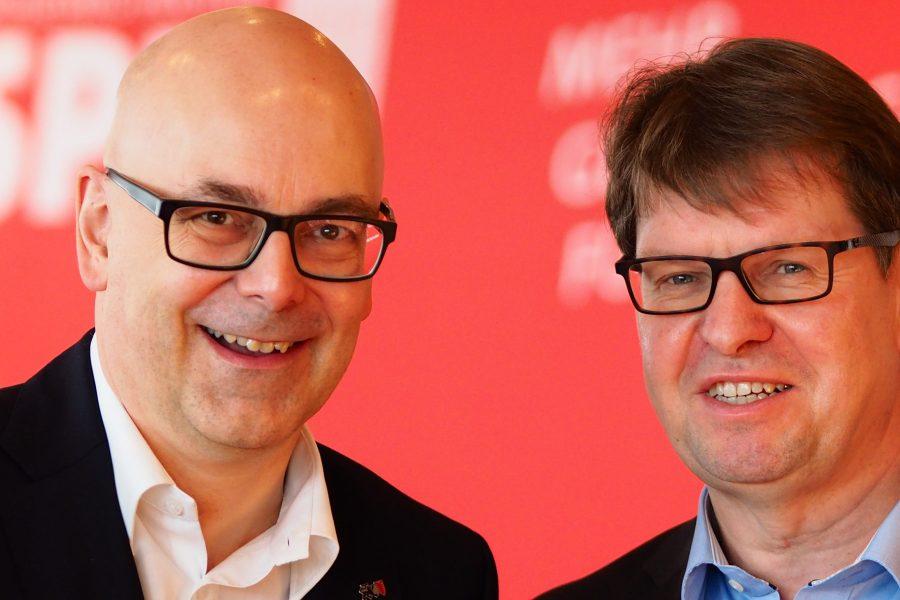 Torsten Albig und Ralf Stegner