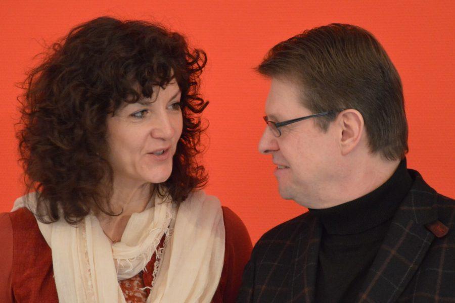 Christiane Küchenhof und Ralf Stegner