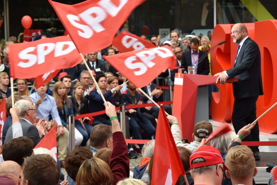 Martin Schulz in Kiel