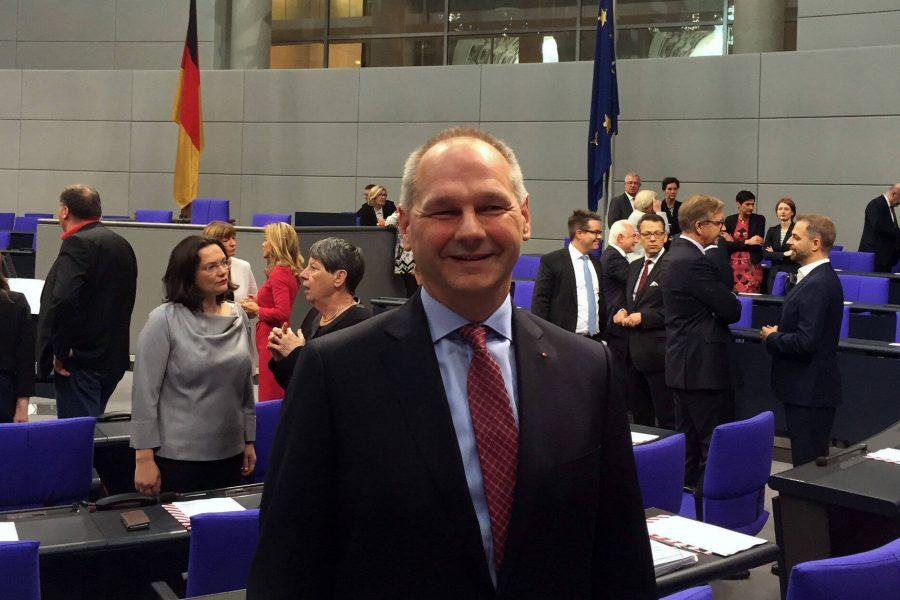 Mathias Stein im Bundestag