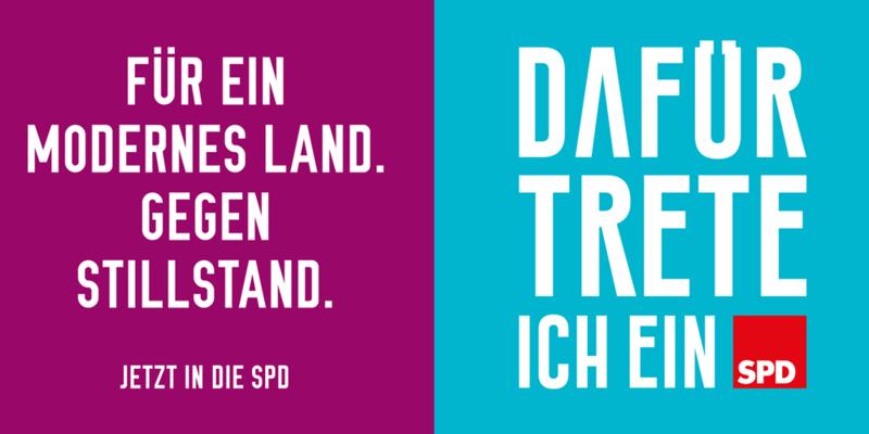 Eintreten! SPD-Mitglied werden!