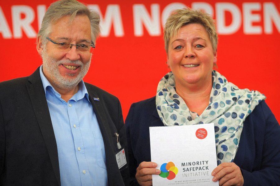 Rüdiger Schulze und Birte Pauls, Minority SafePack Initiative