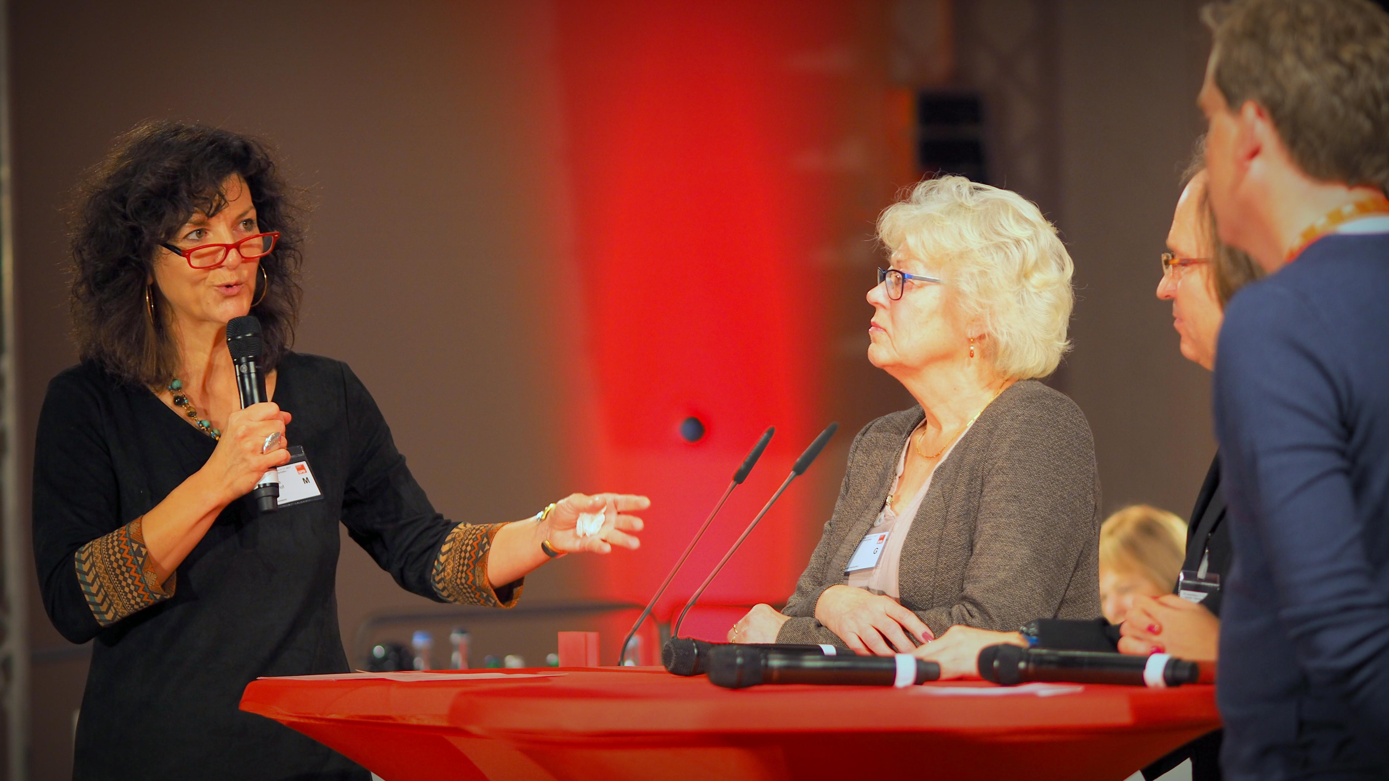 Christiane Küchenhof auf dem Landesparteitag 2017