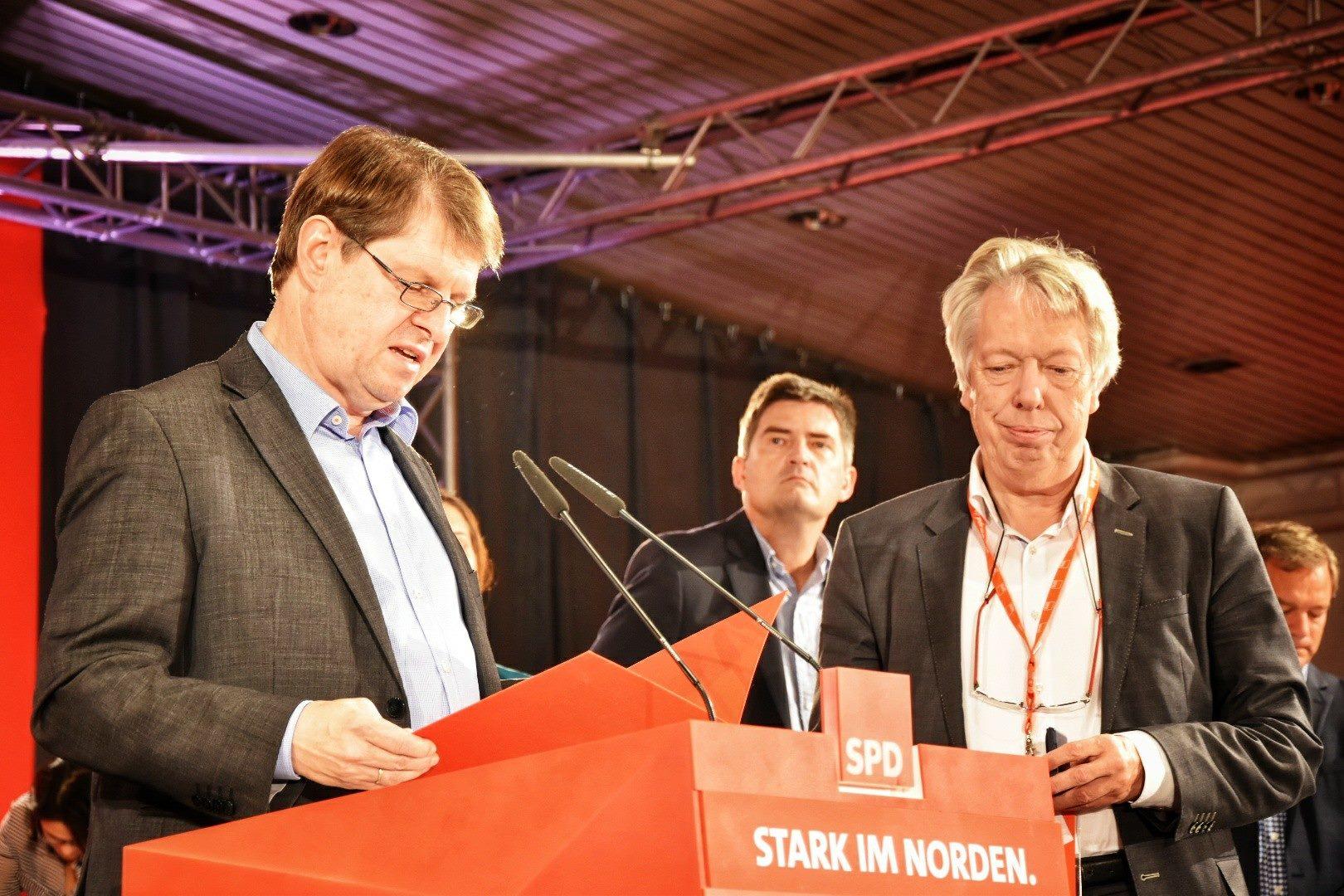 Ralf Stegner und Ernst Dieter Rossmann