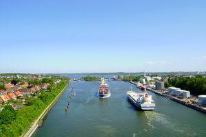 Nord-Ostsee-Kanal, Schleuse Kiel