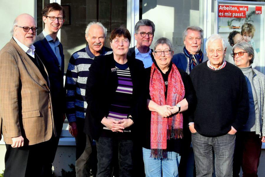 Schiedskommission: Hannelore Kohl zu Besuch in Kiel