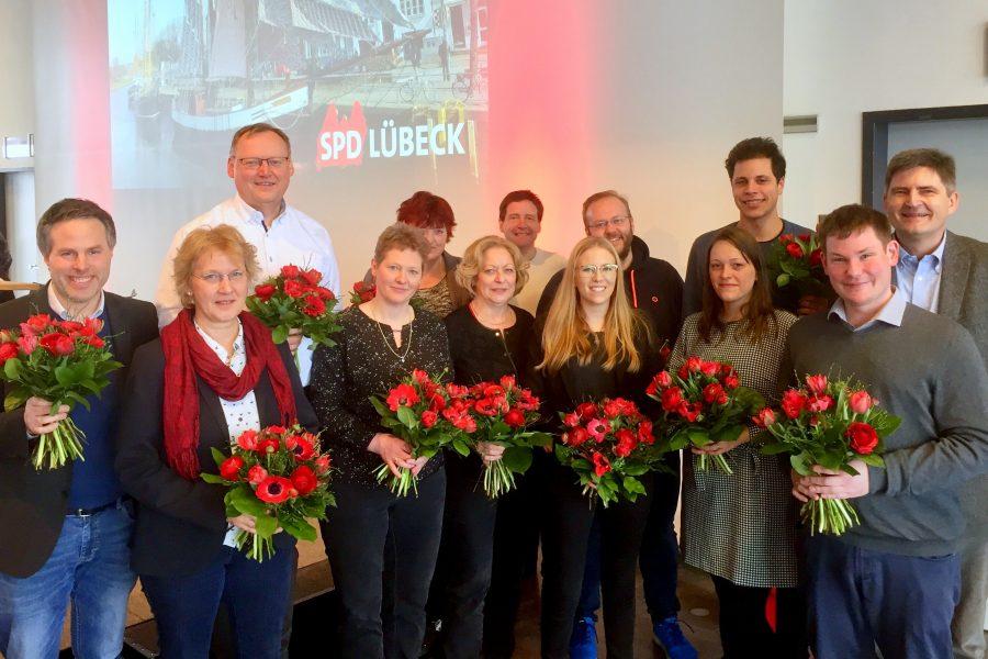 Vorstand SPD Lübeck 2018