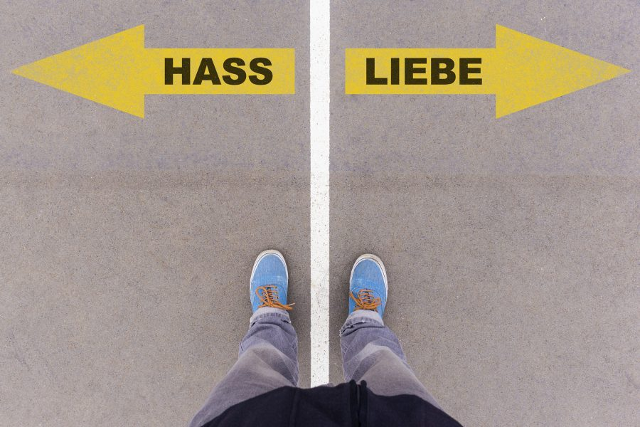 Hass / Liebe