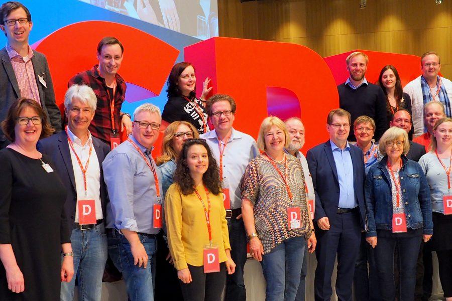 Delegierte Bundesparteitag Wiesbaden 2018