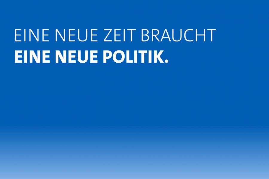 Außerordentlicher SPD-Parteitag: Eine neue Zeit braucht eine neue Politik