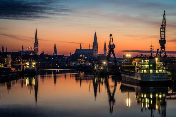 Lübeck am Abend