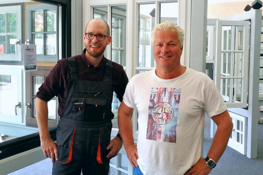 Tobias von Pein und Jörn Lantz