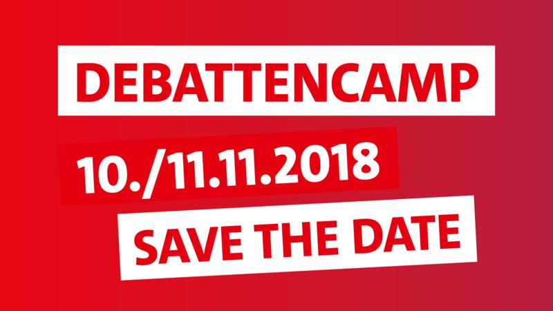 Debattencamp am 10.+11. November