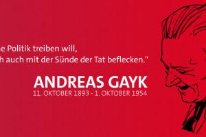 125 Jahre Andreas Gayk