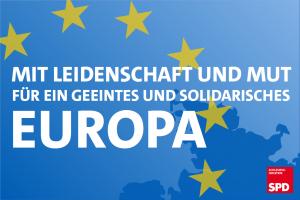 Mit Leidenschaft und Mut für ein geeintes und solidarisches Europa