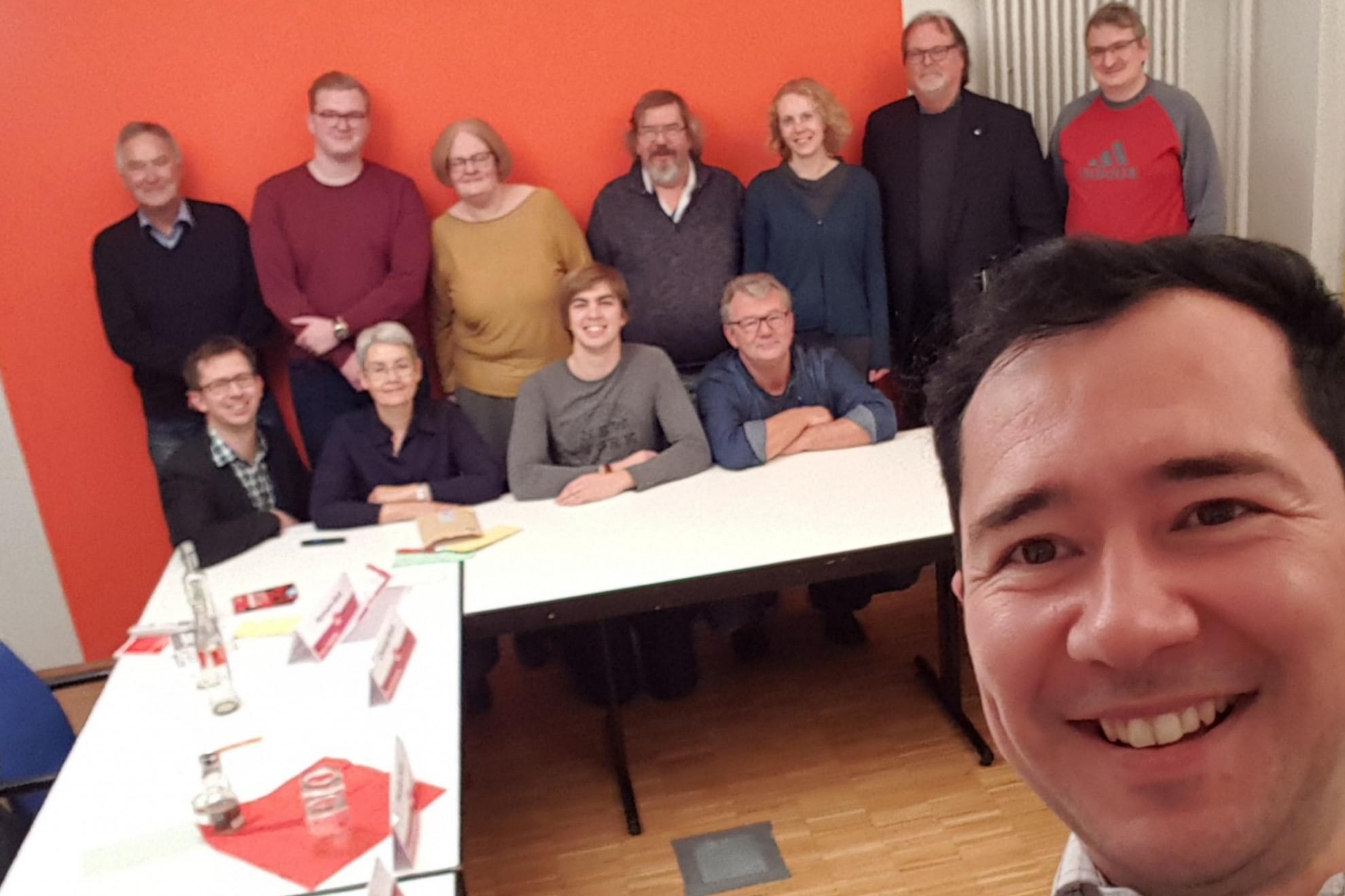 Ortsvereinsvorsitzenden Workshop