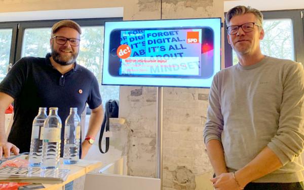 Steffen Voß und Sebastian Jahnz