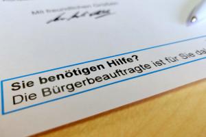 Hinweis: Bürgerbeauftragte