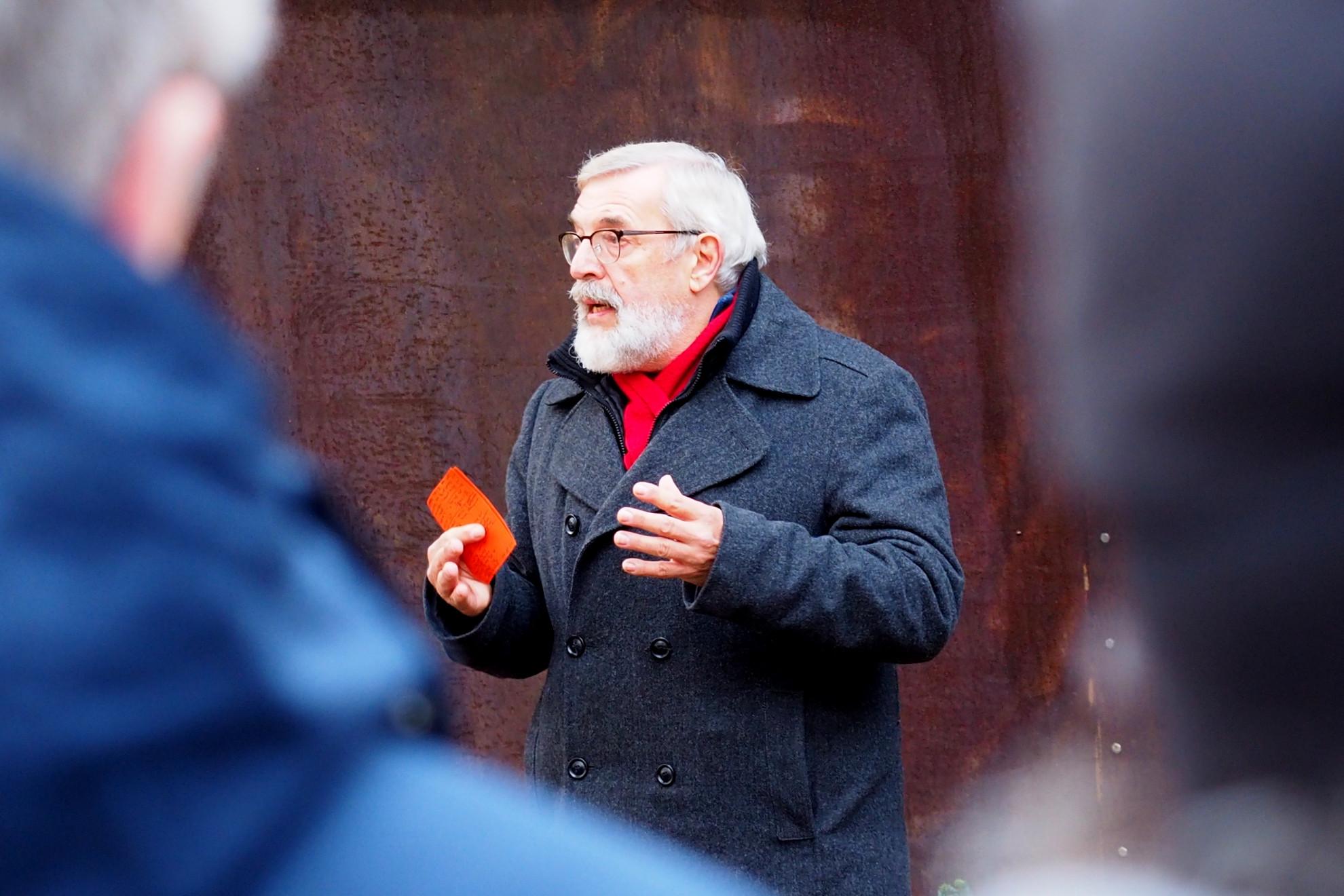 Historiker Rolf Fischer