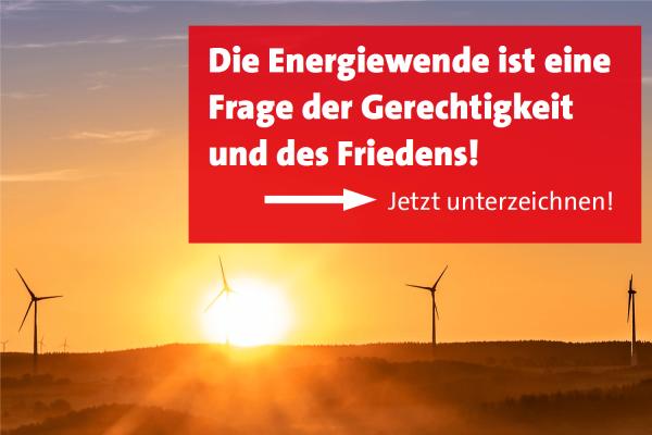 Energiewende: Sozialdemokratischer Appell