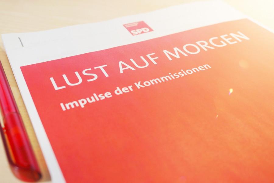 Lust auf morgen - Impulse der Kommissionen