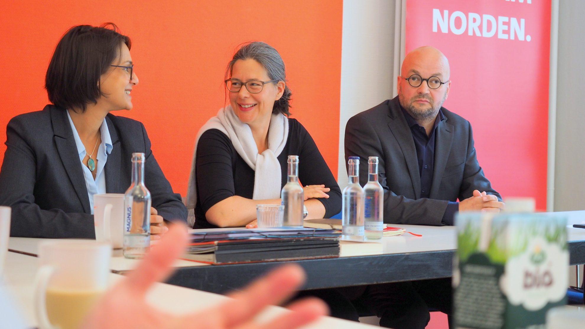 Serpil Midyatli, Nina Scheer, Marcus del Monte