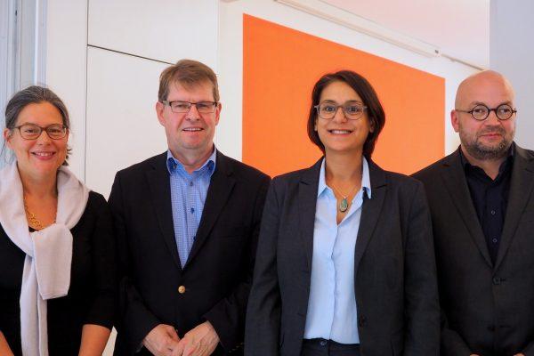 Nina Scheer, Ralf Stegner, Serpil Midyatli, Marcus Del Monte
