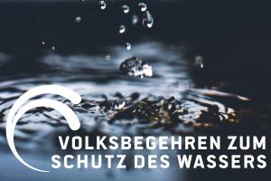 Volksbegehren zum Schutz des Wassers - Logo