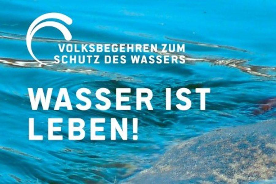 Volksinitiative zum Schutz des Wassers