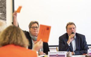 Birte Pauls und Olaf Schulze