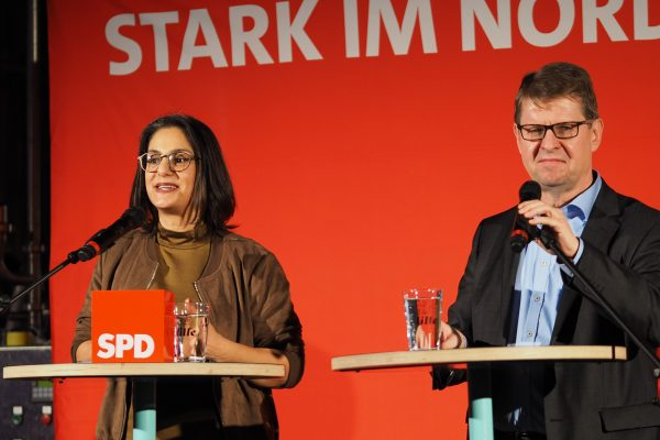 Serpil Midyatli und Ralf Stegner eröffnen den Neujahrsempfang