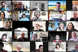 Videokonferenz mit SPD-Kommunalpolitik