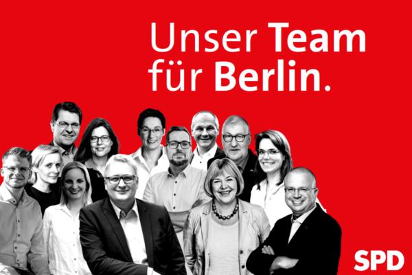 Unser Team für Berlin